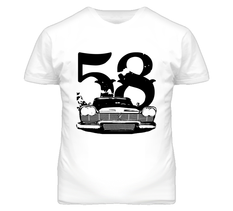 1958 Christine Fury Grill and Year T Shirt