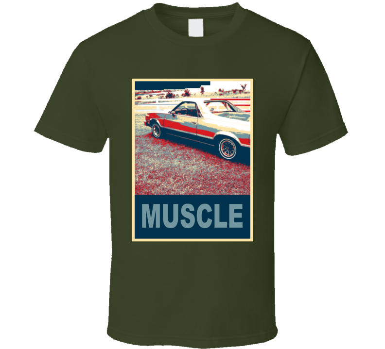 1980 GMC Caballero Muscle Car Hope Style T Shirt