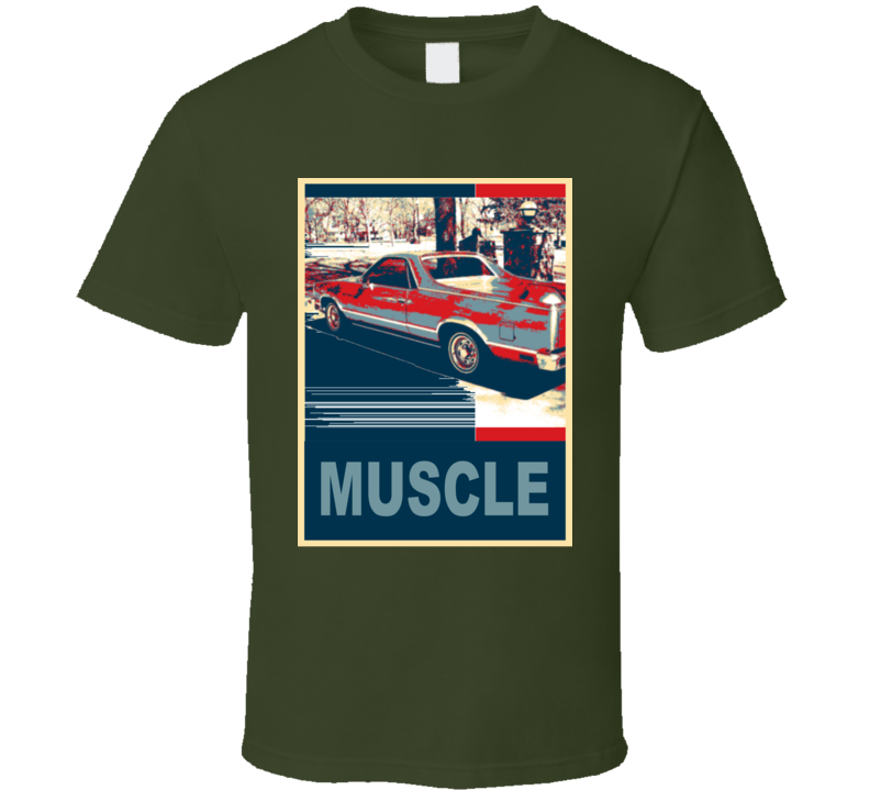 1981 GMC Caballero Muscle Car Hope Style T Shirt