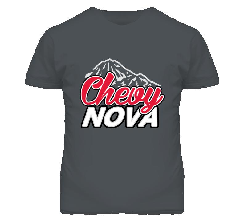 Chevy Nova Coors Mountain Parody T Shirt