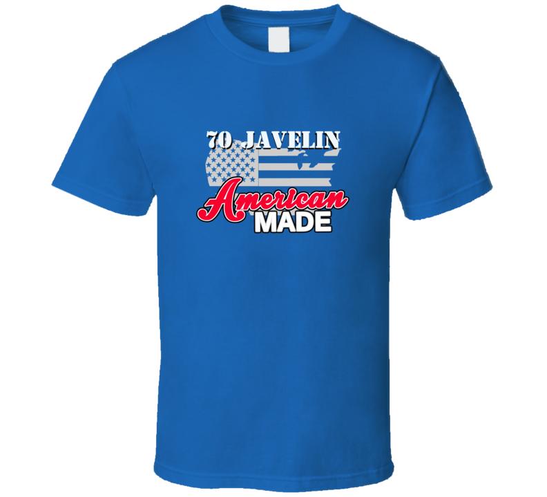 1970 Amc Javelin American Made T Shirt