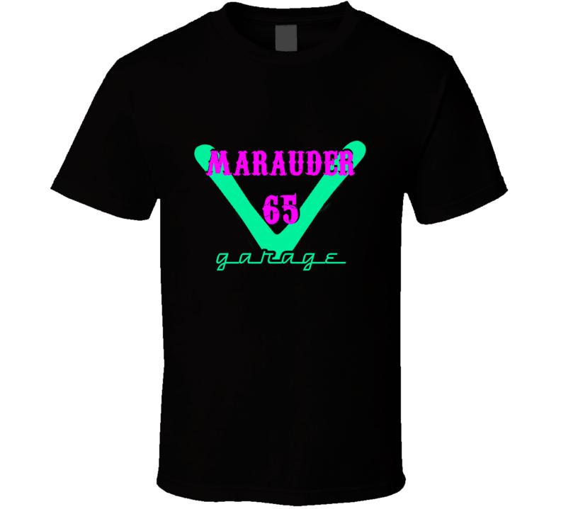 1965 Mercury Marauder Garage Neon Sign Style T Shirt