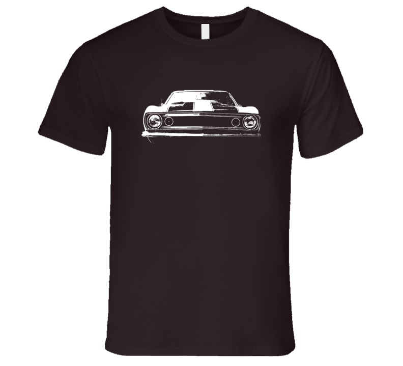 1967 Fast Furious 6 Camaro Grill View Faded Look Dark T Shirt
