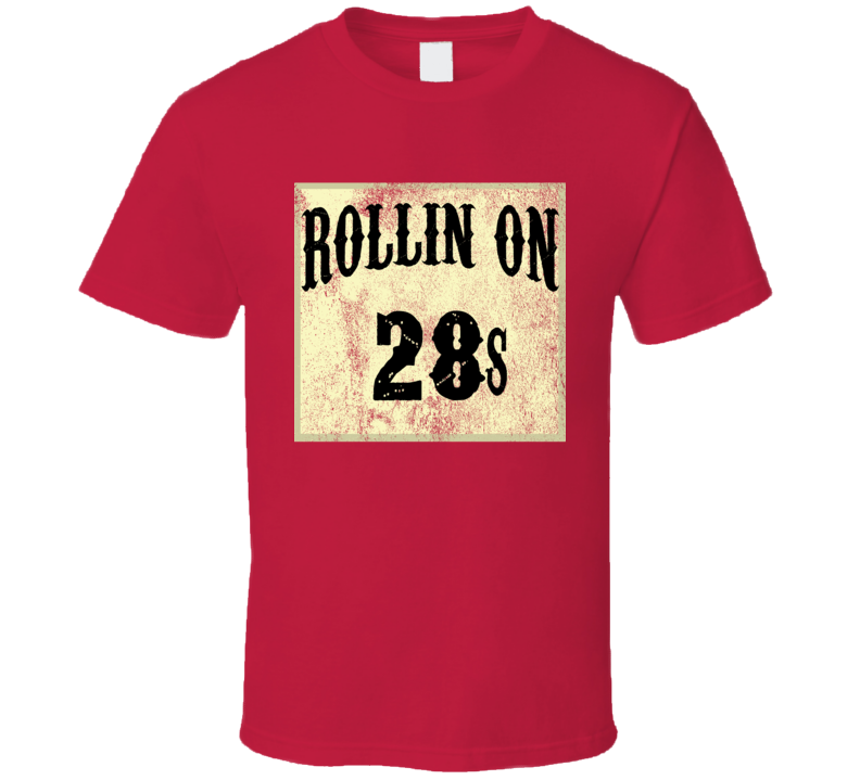 Rollin On 28s Tire Size Car T Shirt