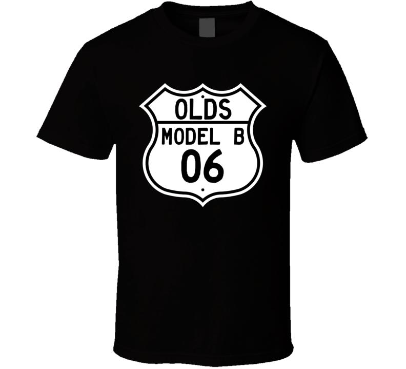 Highway Route Sign 1906 Oldsmobile Model B  T Shirt