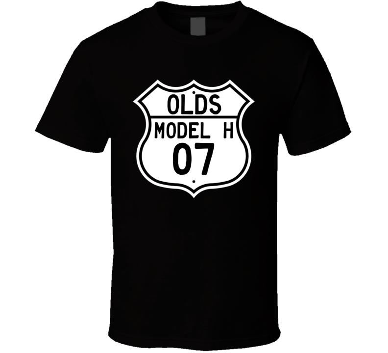 Highway Route Sign 1907 Oldsmobile Model H  T Shirt