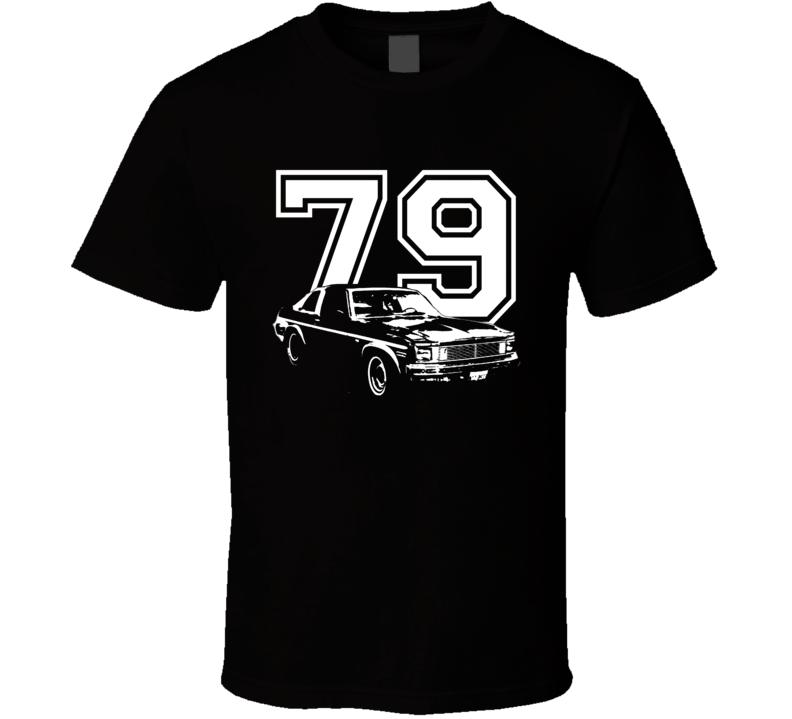 1979 Chevy Nova Side View Year Dark Shirt