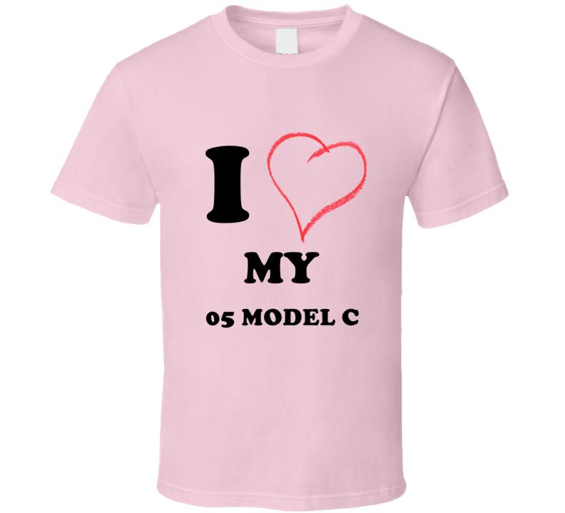 I Heart My 1905 Cadillac Model C T Shirt