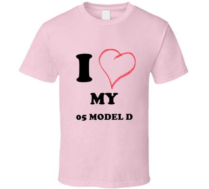 I Heart My 1905 Cadillac Model D T Shirt