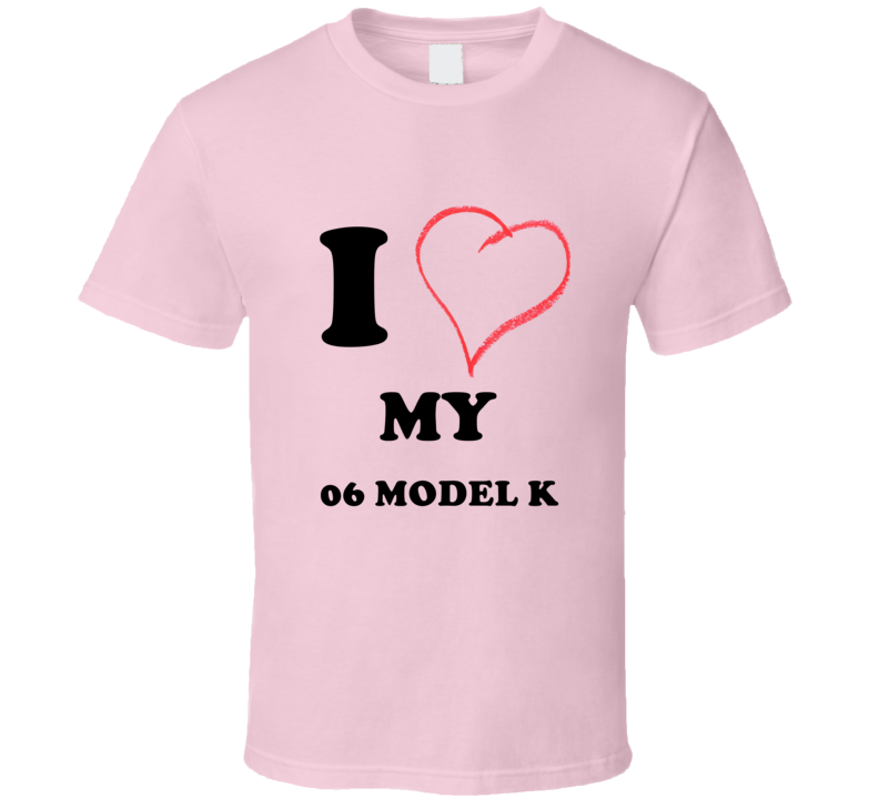 I Heart My 1906 Cadillac Model K T Shirt