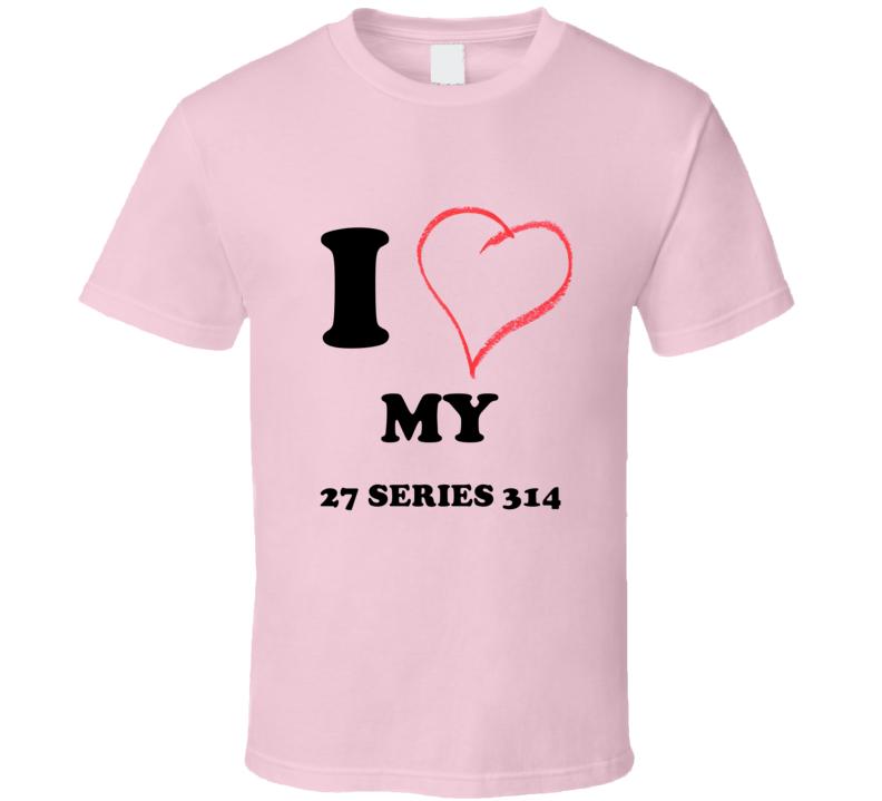 I Heart My 1927 Cadillac Series 314 T Shirt
