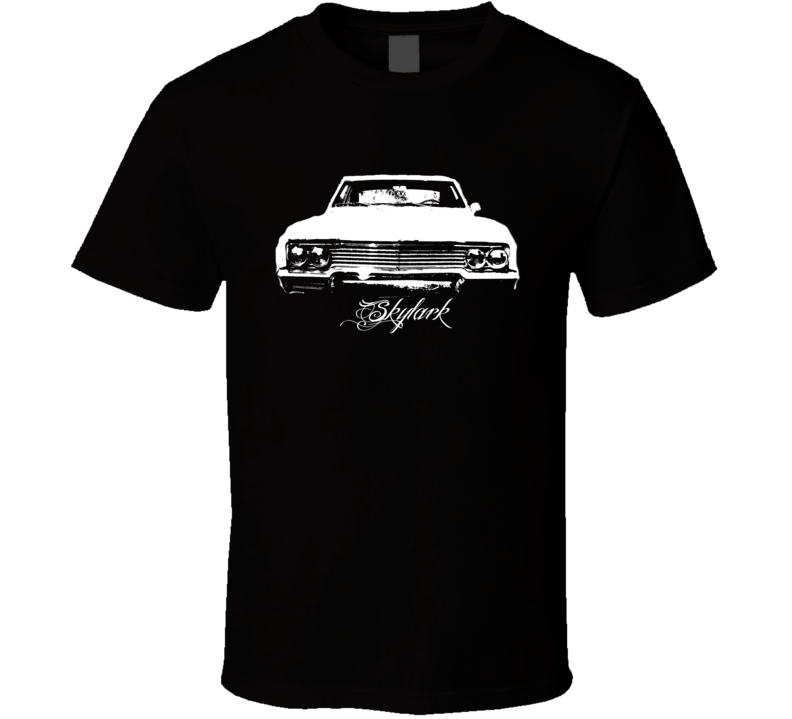 1965 Buick Skylark Grill View Modle Dark Color Shirt