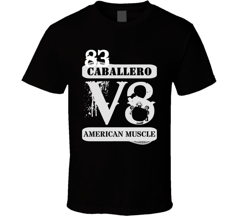 1983 GMC CABALLERO American Muscle V8 Car Lover T Shirt
