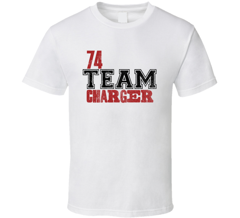 Team 1974 DODGE CHARGER Muscle Car T Shirt