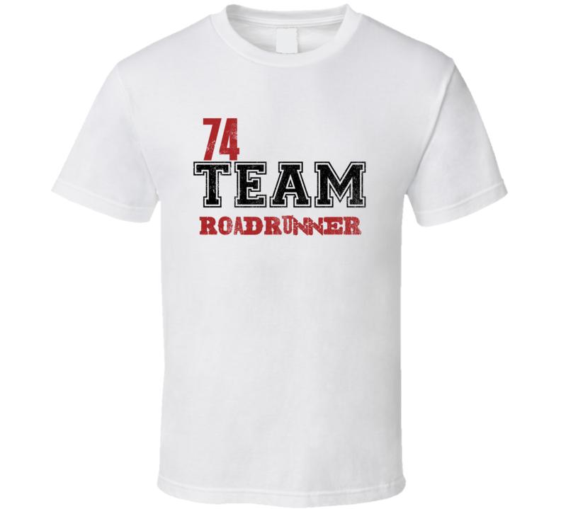 Team 1974 PLYMOUTH ROADRUNNER Muscle Car T Shirt