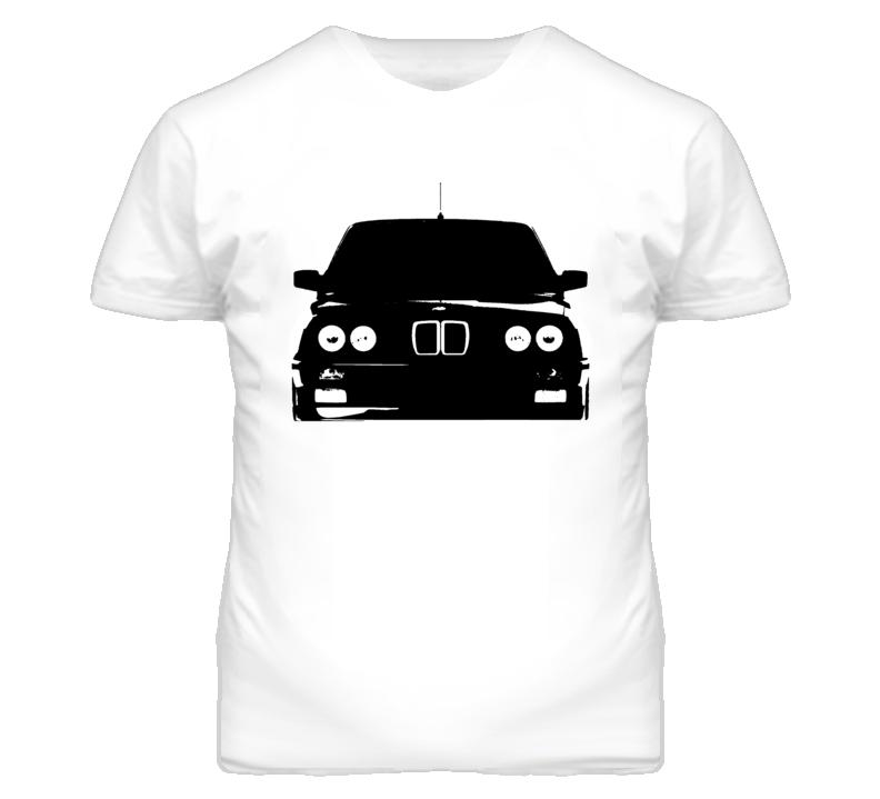 1988 BMW e30 Grill View White T Shirt