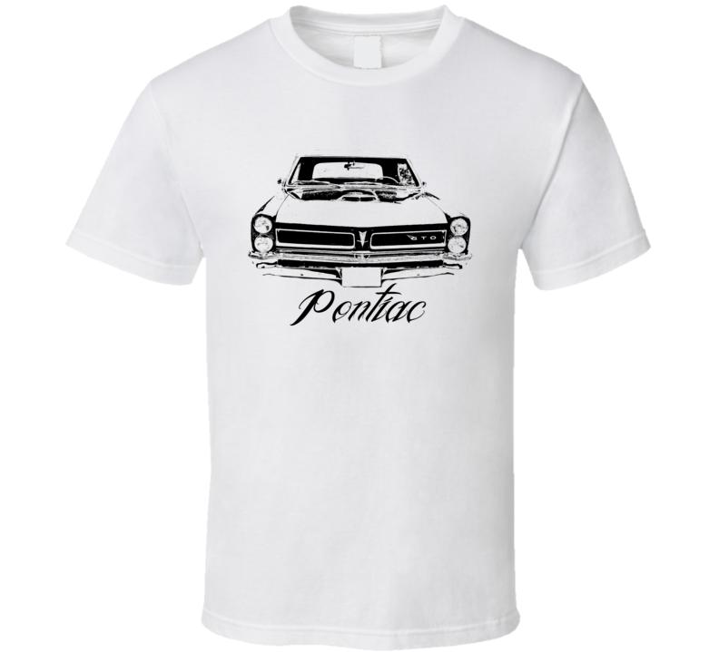 1965 Pontiac GTO Grill Model Name Light Color Shirt