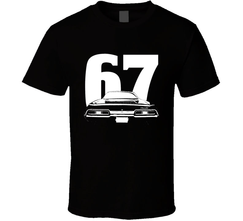 1967 Chevrolet Impala Rear Year Dark Color Shirt