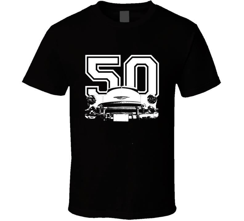 1950 Chevrolet Fleetline Grill Year Dark Shirt