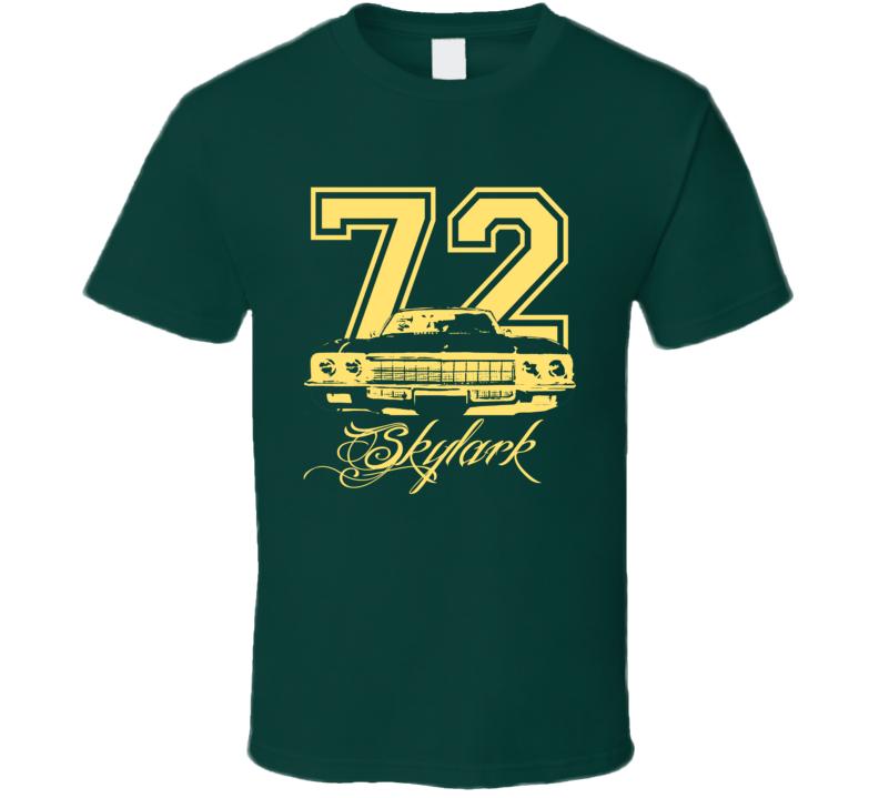 1972 Buick Skylark Grill Year Model Name Custom Tan Dark Color Shirt