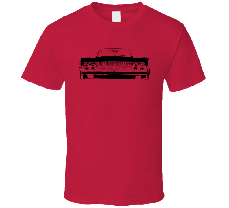 1964 Lincoln Continental Grill Black Graphic T Shirt