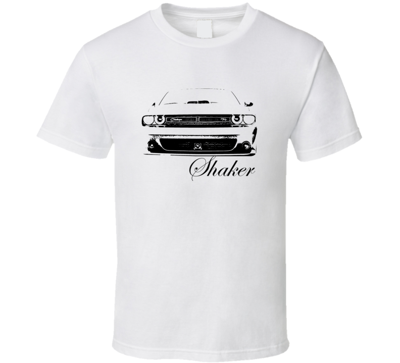 2015 Challenger Shaker Grill With Model Name Light Color Shirt