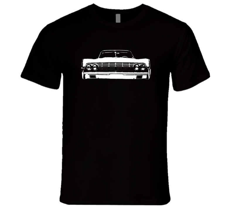 1964_Lincoln_Continental_Grill_White_Graphic T Shirt