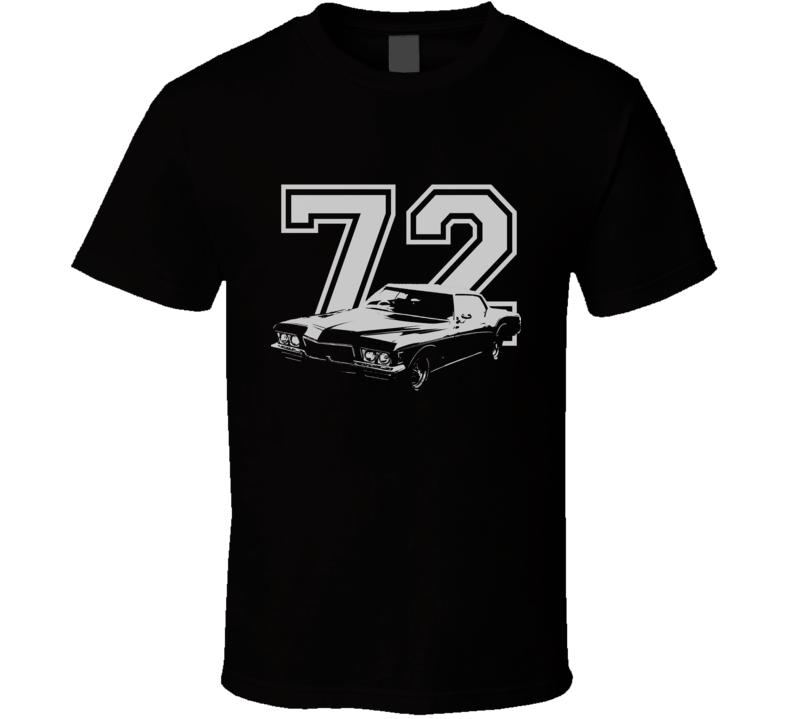 1972 Buick Riviera With Year Dark Shirt