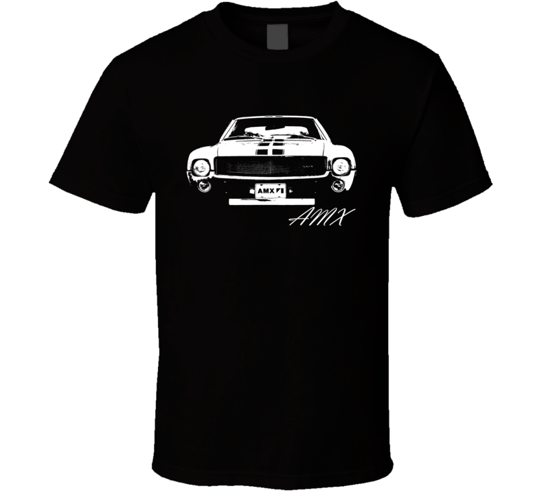 1969 AMX Grill and Model Name Dark Shirt