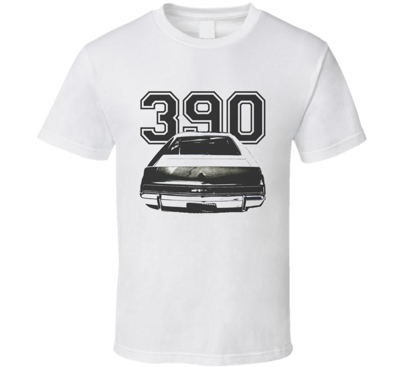 1970_AMC_AMX_Rear_Black_Graphic_Engine Size T Shirt