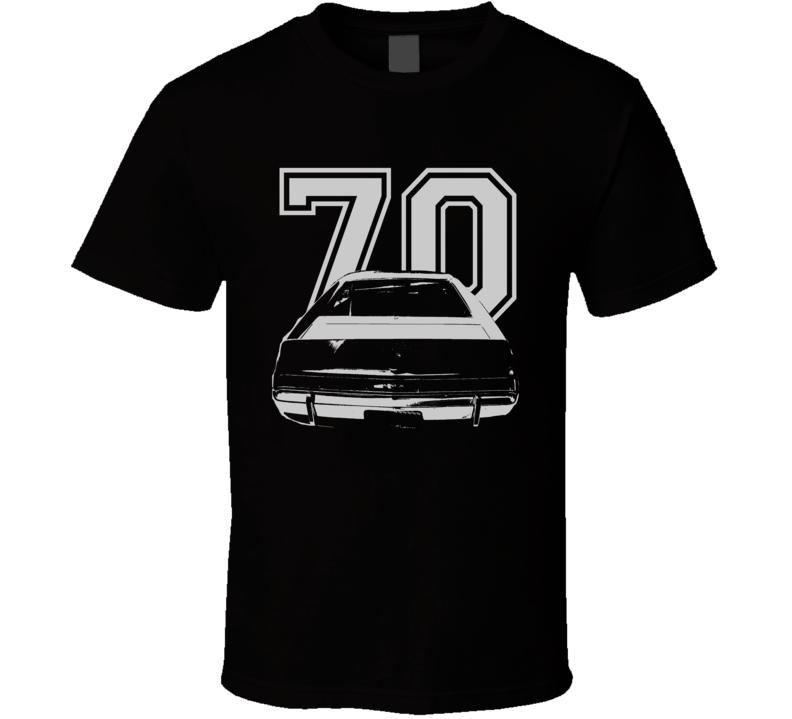 1970_AMC_AMX_Rear_White_Graphic_Year T Shirt
