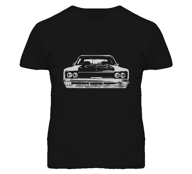 1970 AMC REBEL Grill White Graphic T Shirt