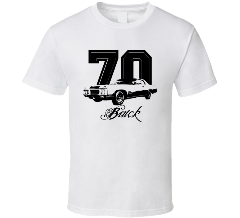 1970 Buick Wildcat Side Year Model Light Color Shirt