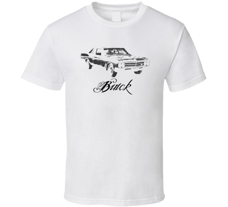 1966 Buick Skylark Side Model Light Color Shirt