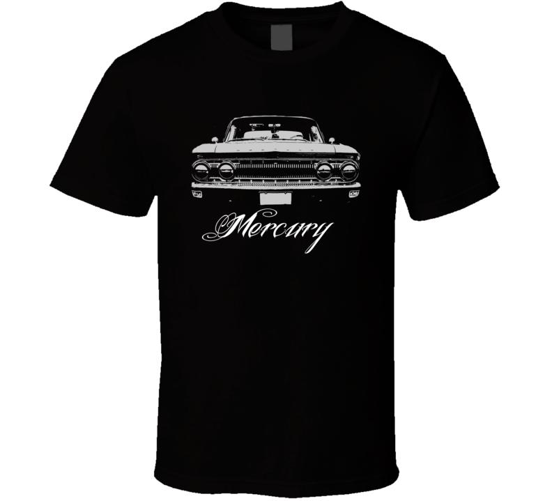 1962 Mercury Comet Faded Look Grill Model Dark Color Shirt