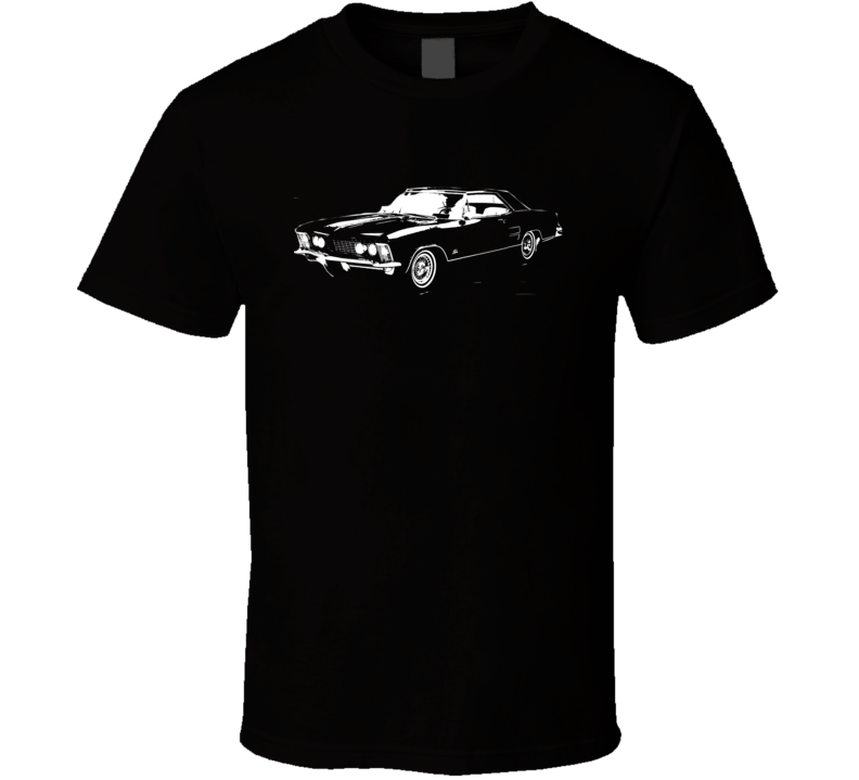 1963 Buick Riviera Side Dark Color Shirt