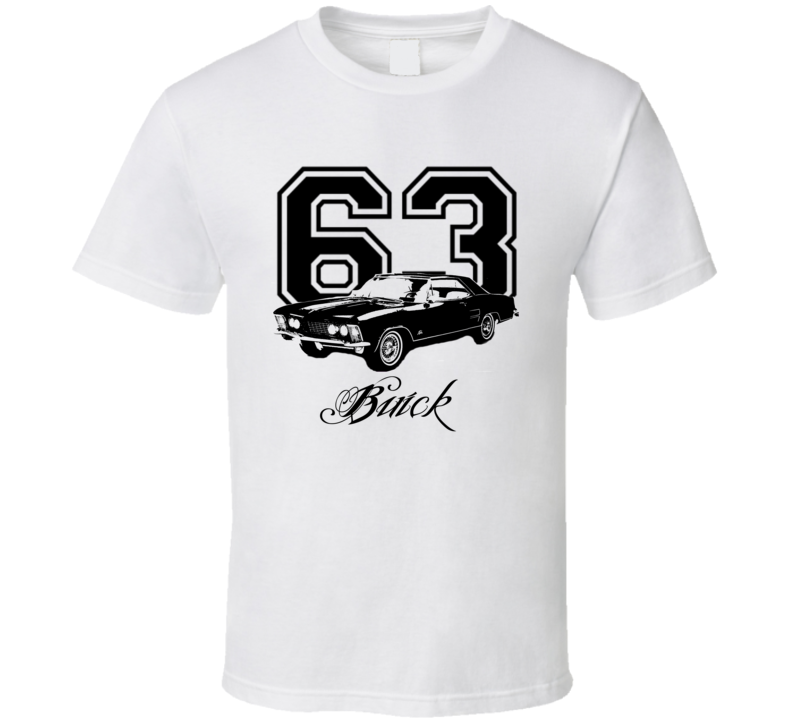 1963 Buick Riviera Side Model Light Color Shirt