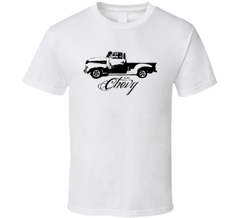 1949 Chevy Truck Side View Light Color Shirt