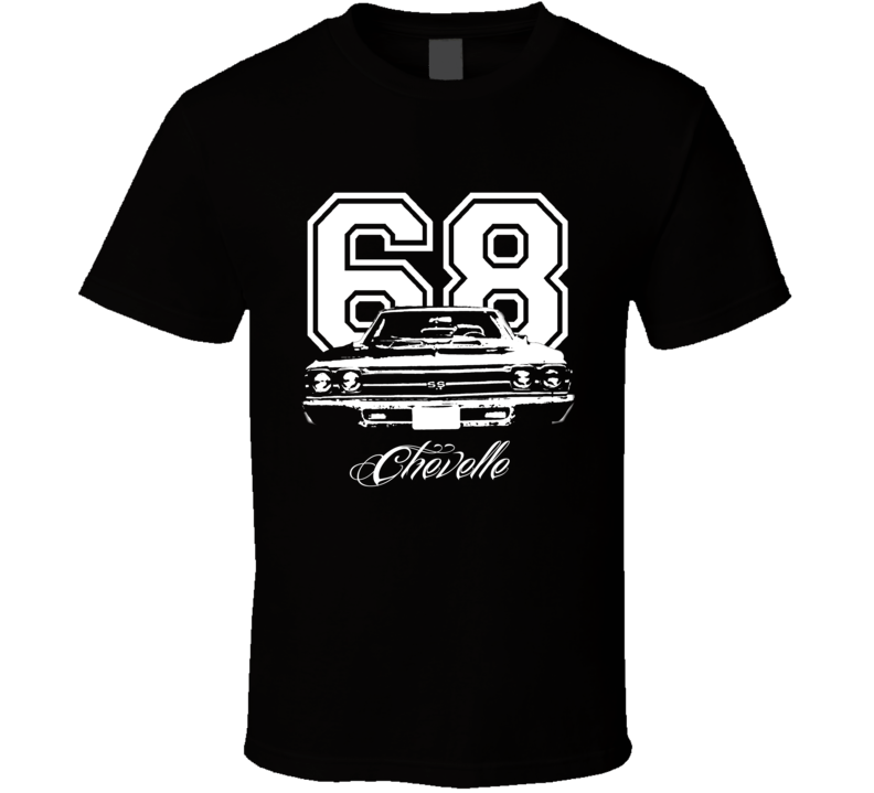 1968 Chevelle Grill View Year Model Dark Color Shirt