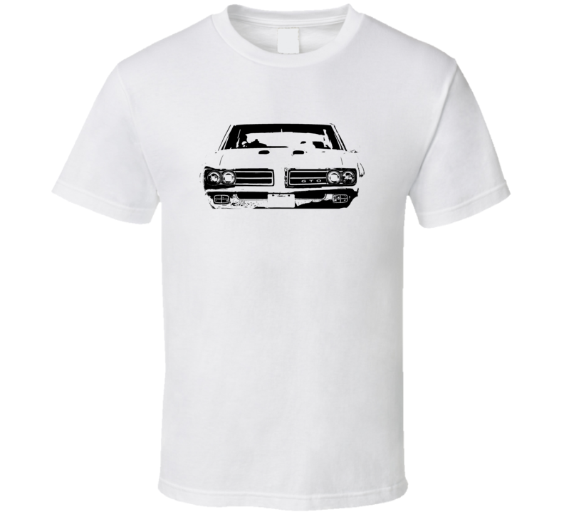 1969 GTO Grill View Light Color Shirt
