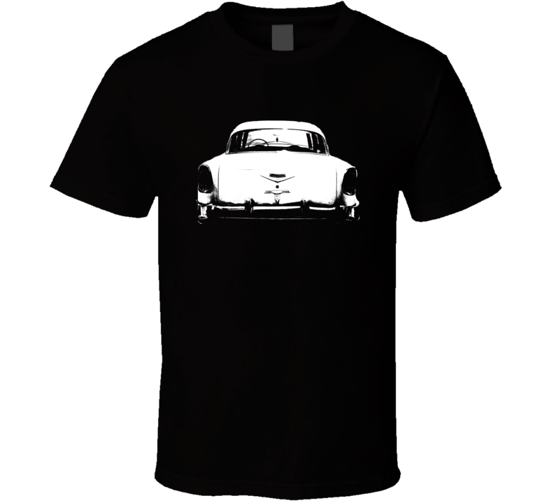 1956 Bel Air Rear View Dark Color Shirt