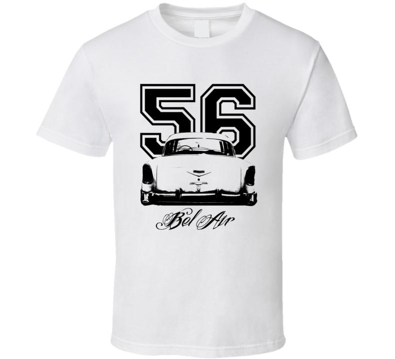 1956 Bel Air Rear Year Model Light Color Shirt