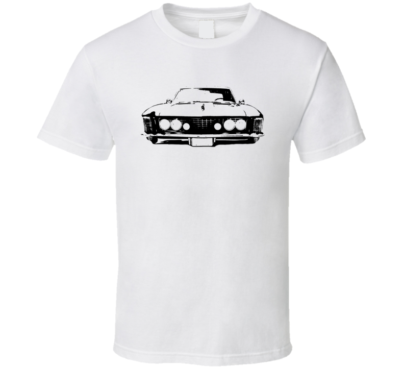 1964 Buick Riviera Grill View Light Color Shirt