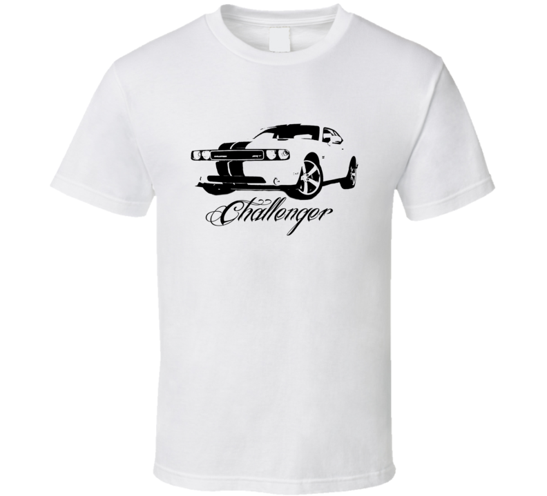 2012 Challenger SRT Grill View Model Light Color Shirt