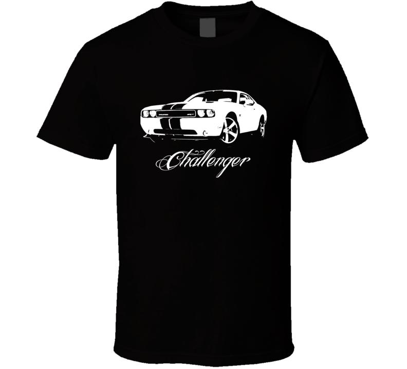 2012 Challenger SRT Grill View Model Dark Shirt