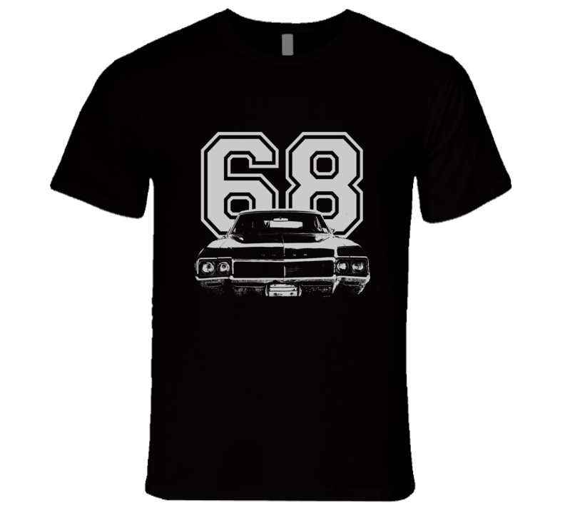 1968 BUICK SKYLARK Grill White Graphic Year T Shirt