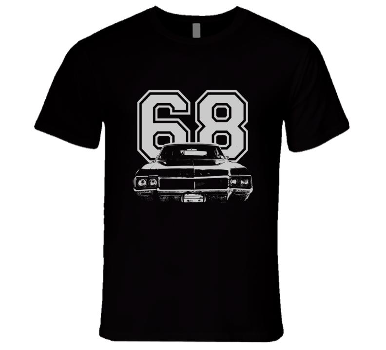 1968 BUICK SKYLARK Grill White Graphic Year T Shirt