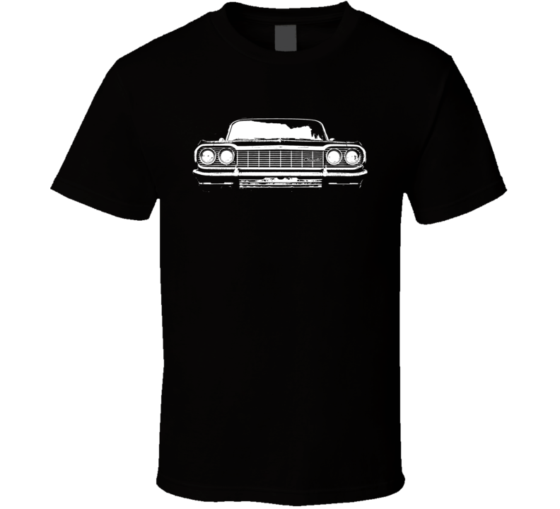 1964 Impala Grill View Dark Color Shirt