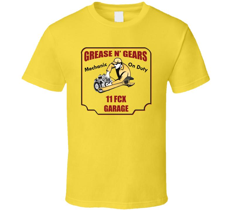 Grease N Gear 11 Fcx Garage T Shirt