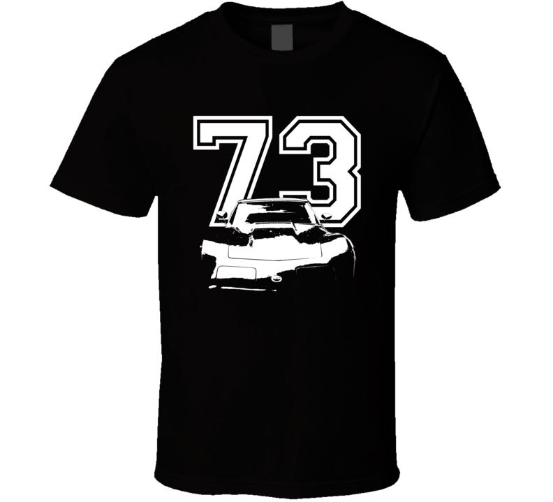 1973 Corvette Stingray Grill Year Dark Color Shirt